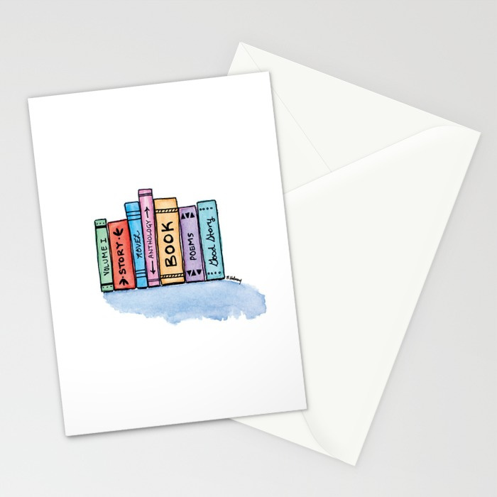 Little Library Note Cards