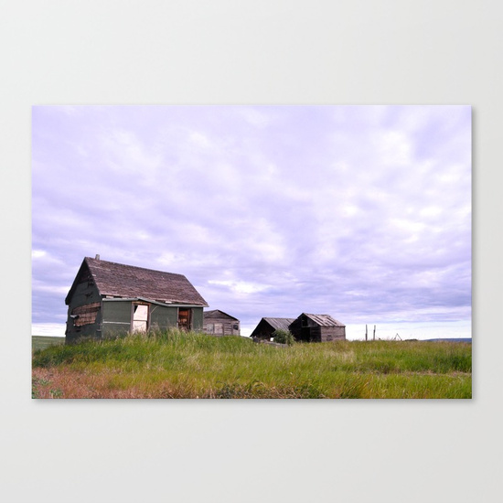 The Homestead, Canvas Print