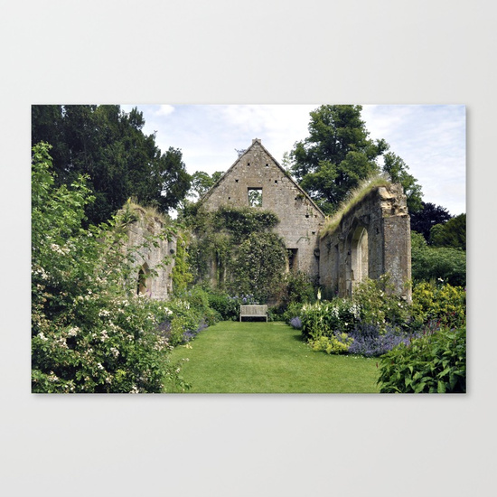 The Tithe Barn, Canvas Print