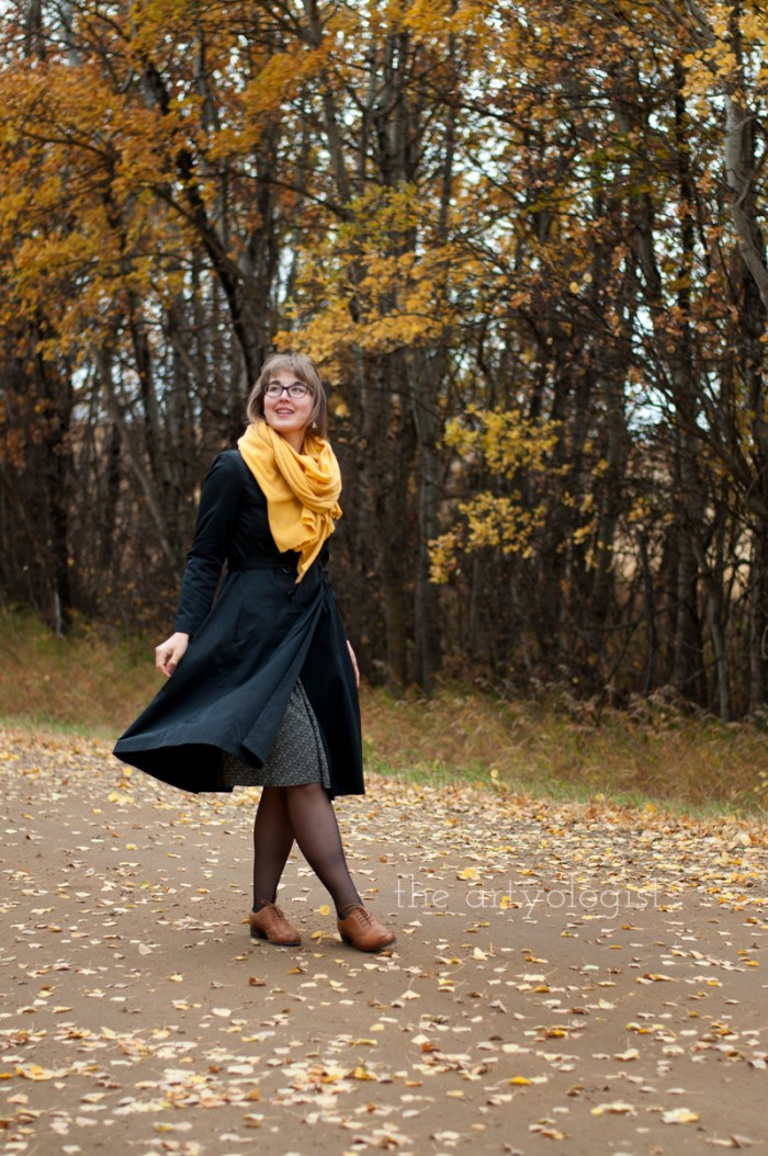 An Outfit For A Rather Windblown Autumn Day, the artyologist