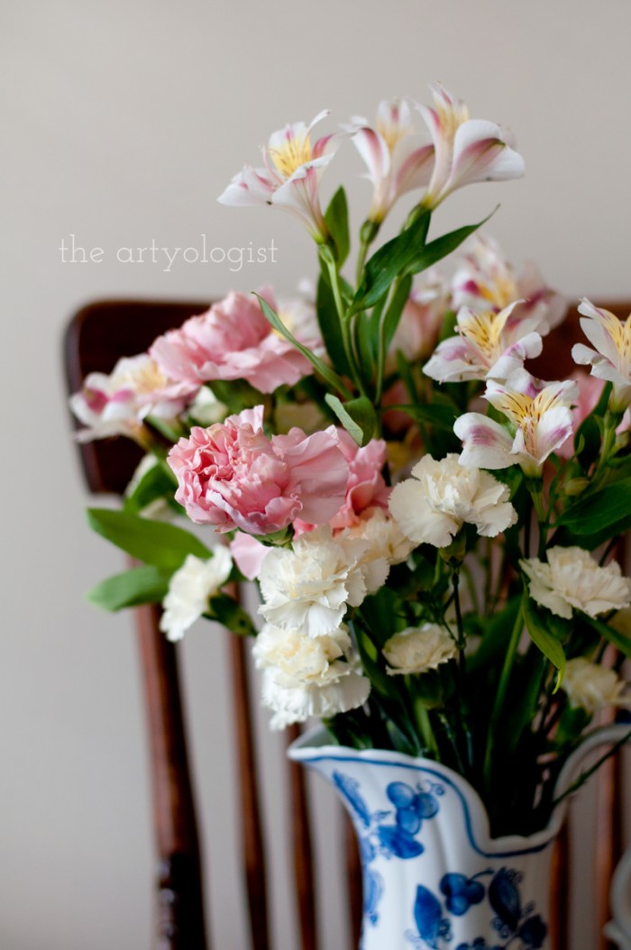 Life Lately and An Everlasting Bouquet of Flowers, sculptural bouquet
