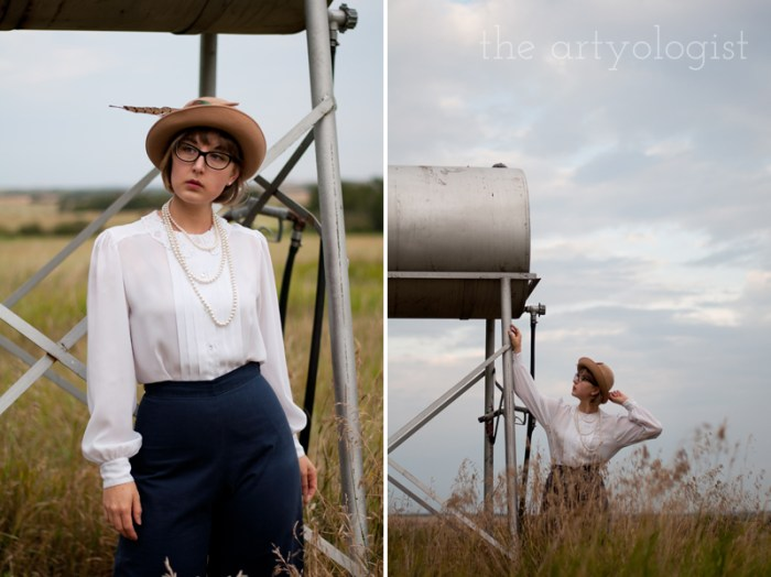 Wearing Vintage (Or Alternative Style) vs. a Costume, the artyologist
