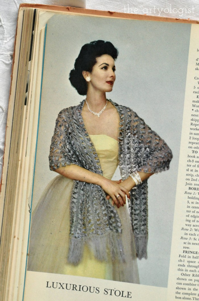 A Fashion Moment with Vintage McCall's Treasury of Needlecraft: New Year's Edition, The Artyologist