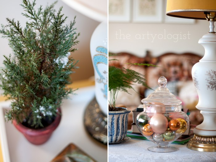 side-table-decor, the artyologist