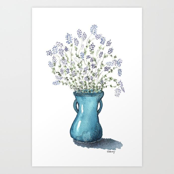 Alfalfa Bouquet, Giclee Print