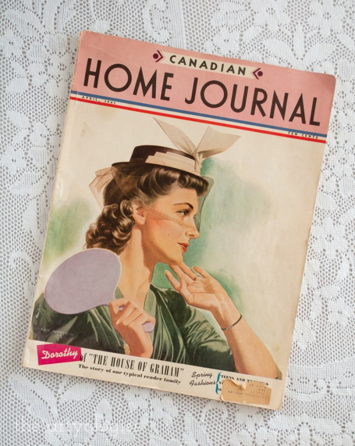 What the Grahams Wore on Easter Sunday, Canadian Home Journal 1941, the artyologist