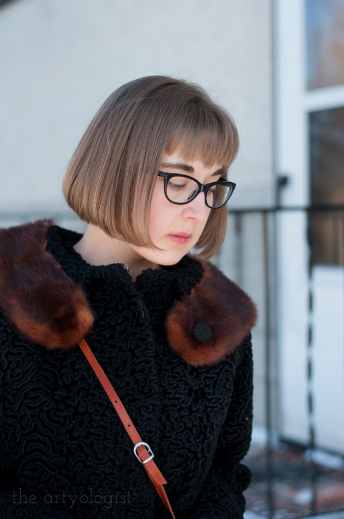 Vintage Modern Mix: Astra Fur & Denim, the artyologist
