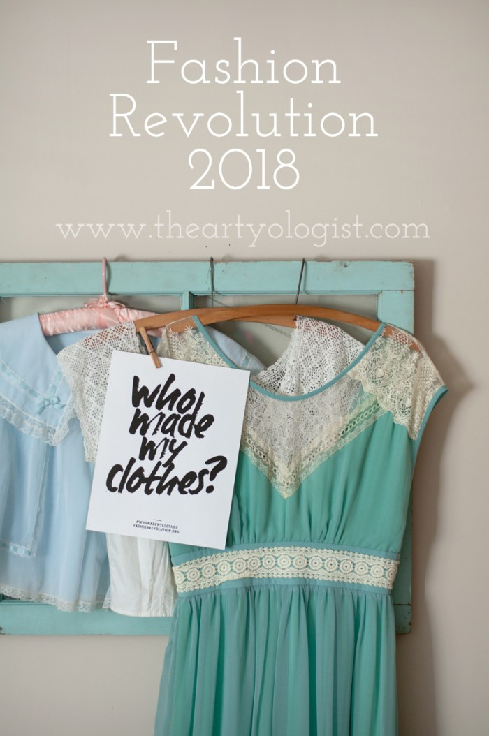 fashion revolution, the artyologist