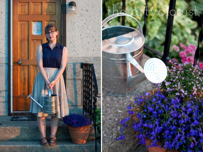 flowers-and-everyday-outfit, the artyologist
