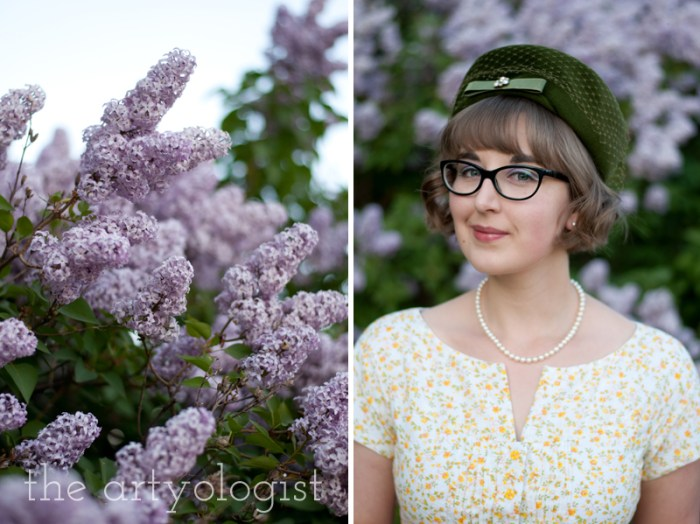 lilacs-and-portrait, the artyologist