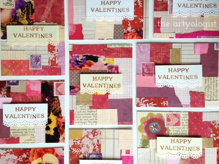 valentine-cards, the artyologist