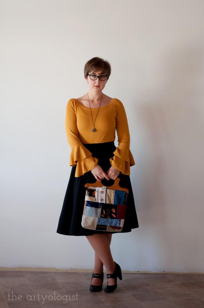 mustard sweater 1