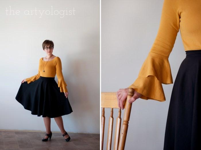 mustard sweater 3