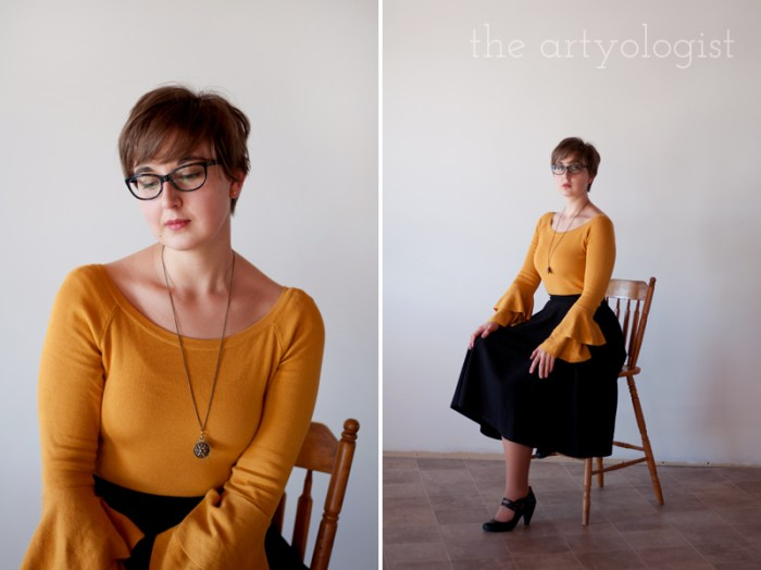 mustard sweater 6