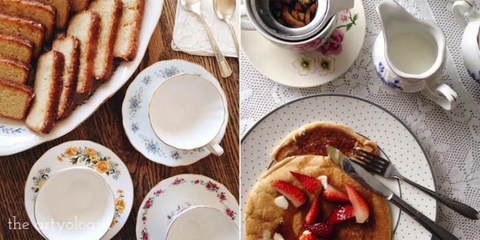 life lately, tea party
