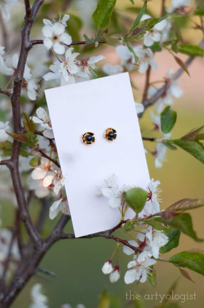 andrea-shelley- black pearl earrings
