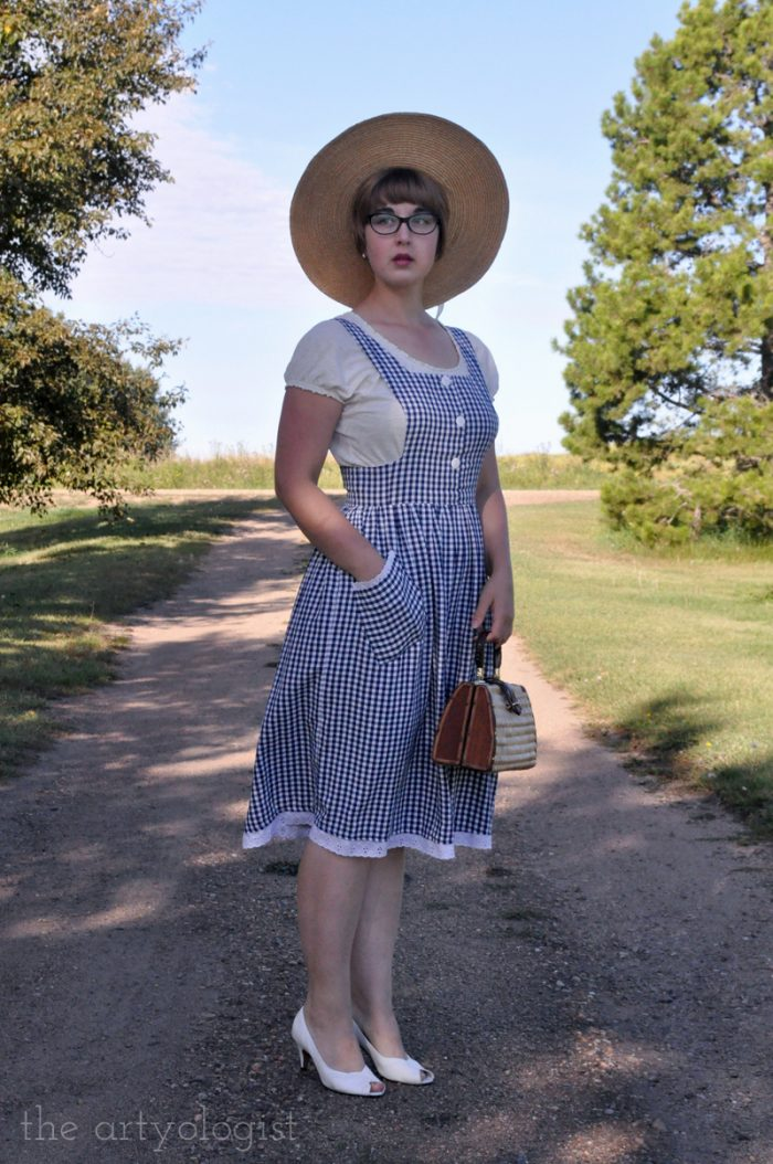 1940's style picnic outfit