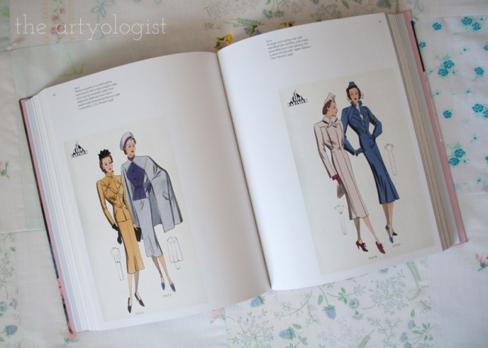 1930's fashion illustrations