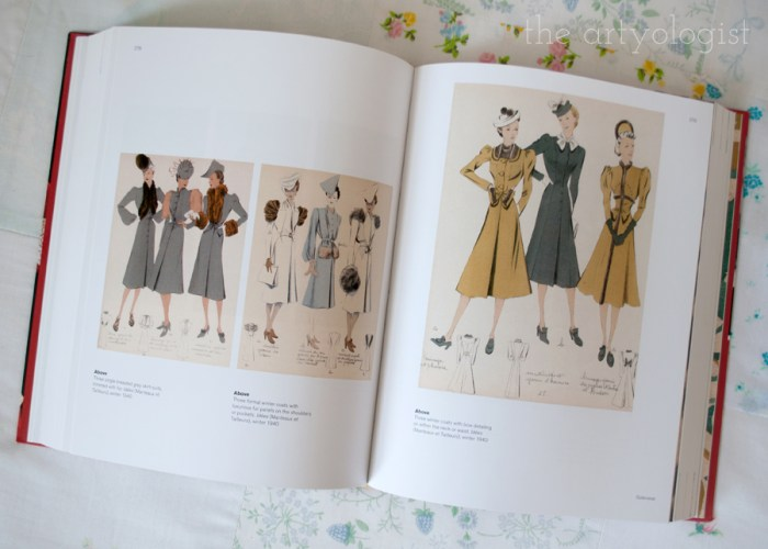 1940's fashion illustrations