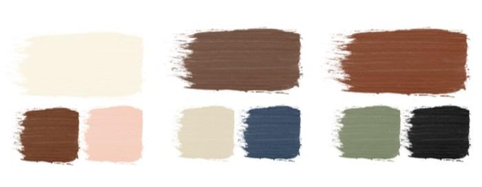 colour combinations for my colour palette