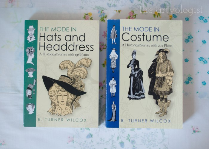 covers of the mode in costume and hats and headdress books