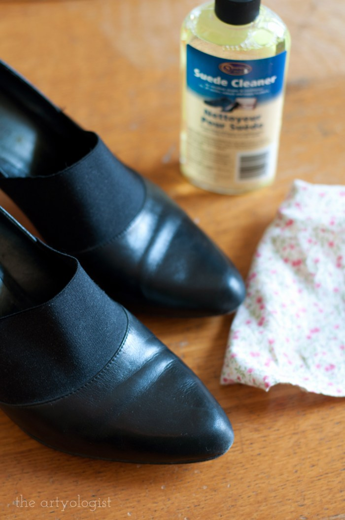 cleaning your leather shoes