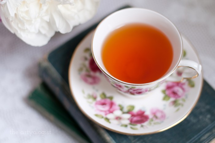a cup of afternoon tea