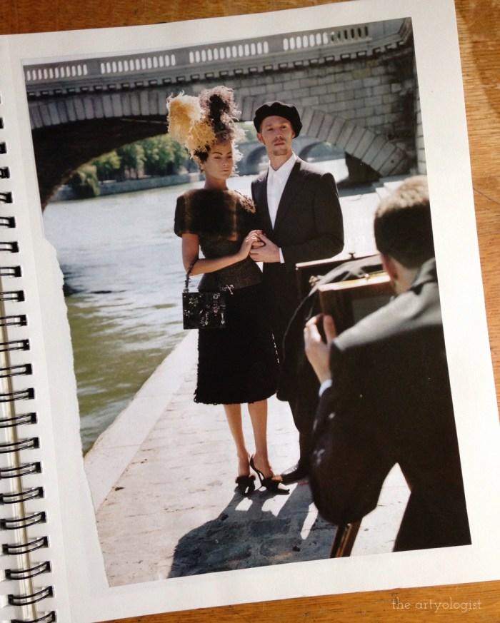 paris inspired vogue 1998 photoshoot