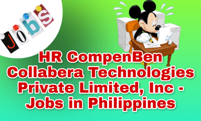 HR CompenBen Collabera Technologies Private Limited, Inc - Jobs in Philippines