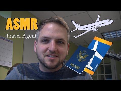ASMR Travel Agent Roleplay