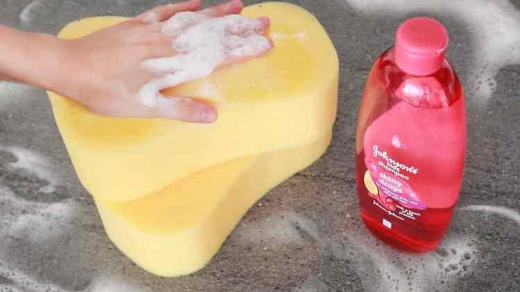 Sponge and Soap ASMR