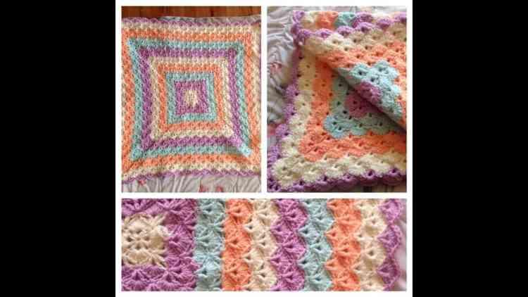 Unintentional ASMR Crochet Blanket Tutorial