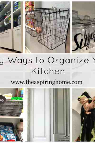 How to Clear the Kitchen Clutter!