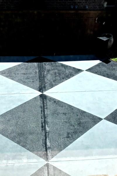 Paint Concrete! The Easy Way …