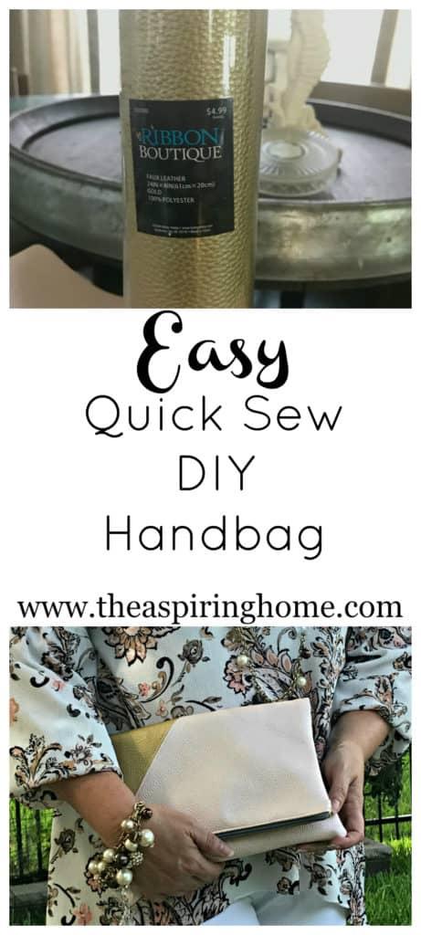 Sew a DIY Handbag The Aspiring Home
