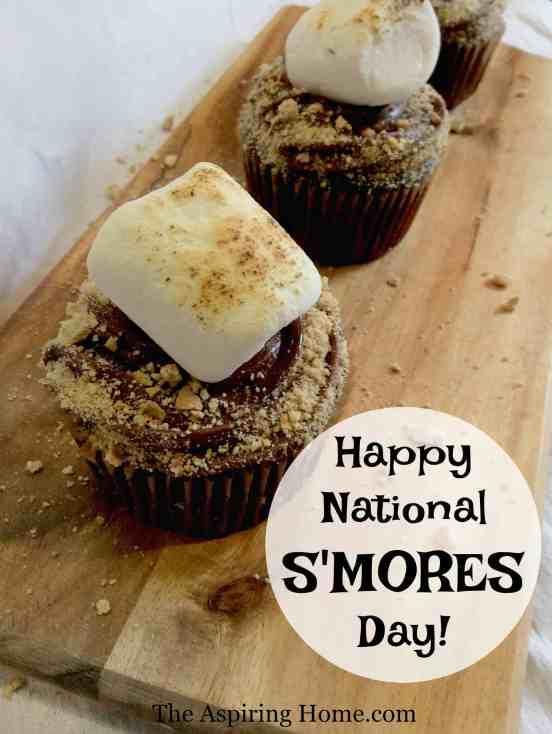 Easy S'mores Cupcake Recipe Aspiring Home
