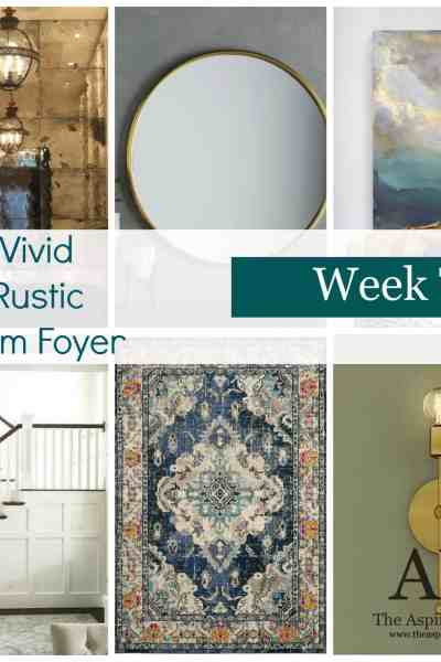 ORC Fall 2017 – Week 2- Vivid Rustic Glam Foyer