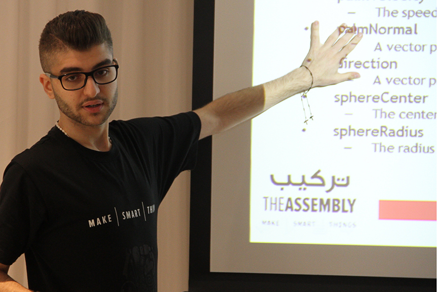 Workshop – Learn Gesture Control – Aug 01, 2015