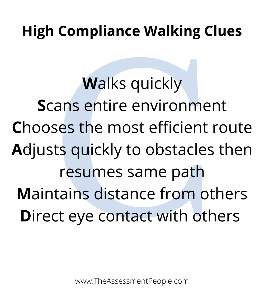 DISC Walking Style Compliance