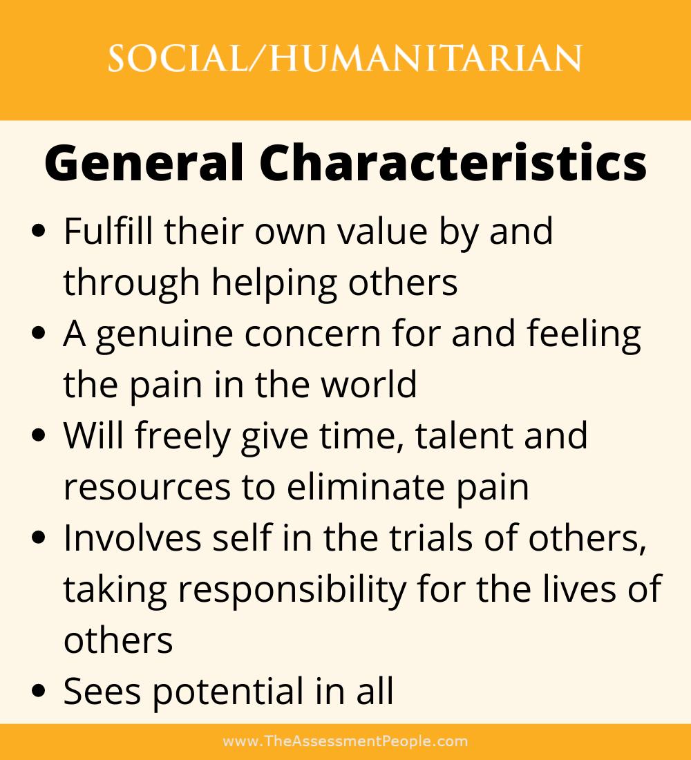 Social Motivator Characteristics