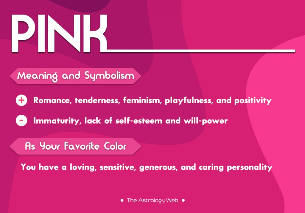 Pink Color Meaning and Symbolism   The Astrology Web