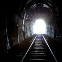 When The Tunnel Is Dark, Keep Moving Forward