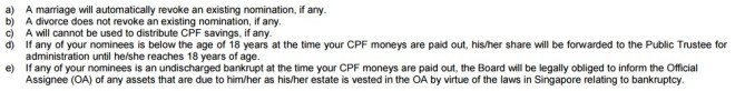 CPF Nomination Form