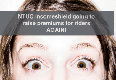 NTUC Incomeshield Review – NEW increase price for PLUS rider!