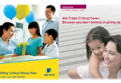 AVIVA My Multipay Critical Illness vs AIA Triple Critical Cover (Critical Illness Coverage)