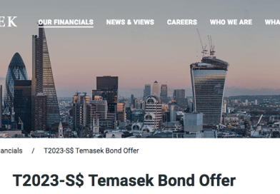 Should you buy the Temasek Bond (T2023-S$)