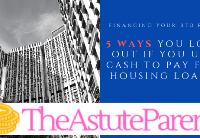 5 Reasons Why You Lose Out If You Use Cash To Pay For Housing Loans