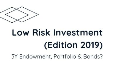 Low Risk Investment (Edition Oct2019)|3y Endowment, Portfolio or Bonds?