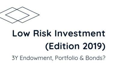 Low Risk Investment (Edition Oct2019)|3y Endowment, Portfolio or Bonds?