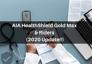 Newest Update to AIA HealthShield Gold Max and Riders 2020!
